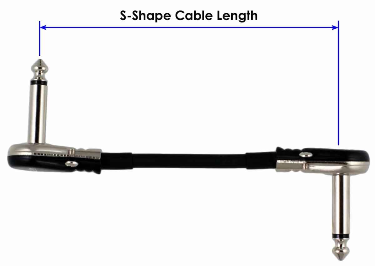 2 Ft Castline Silver Mogami 2319 Guitar Pedal Board Patch