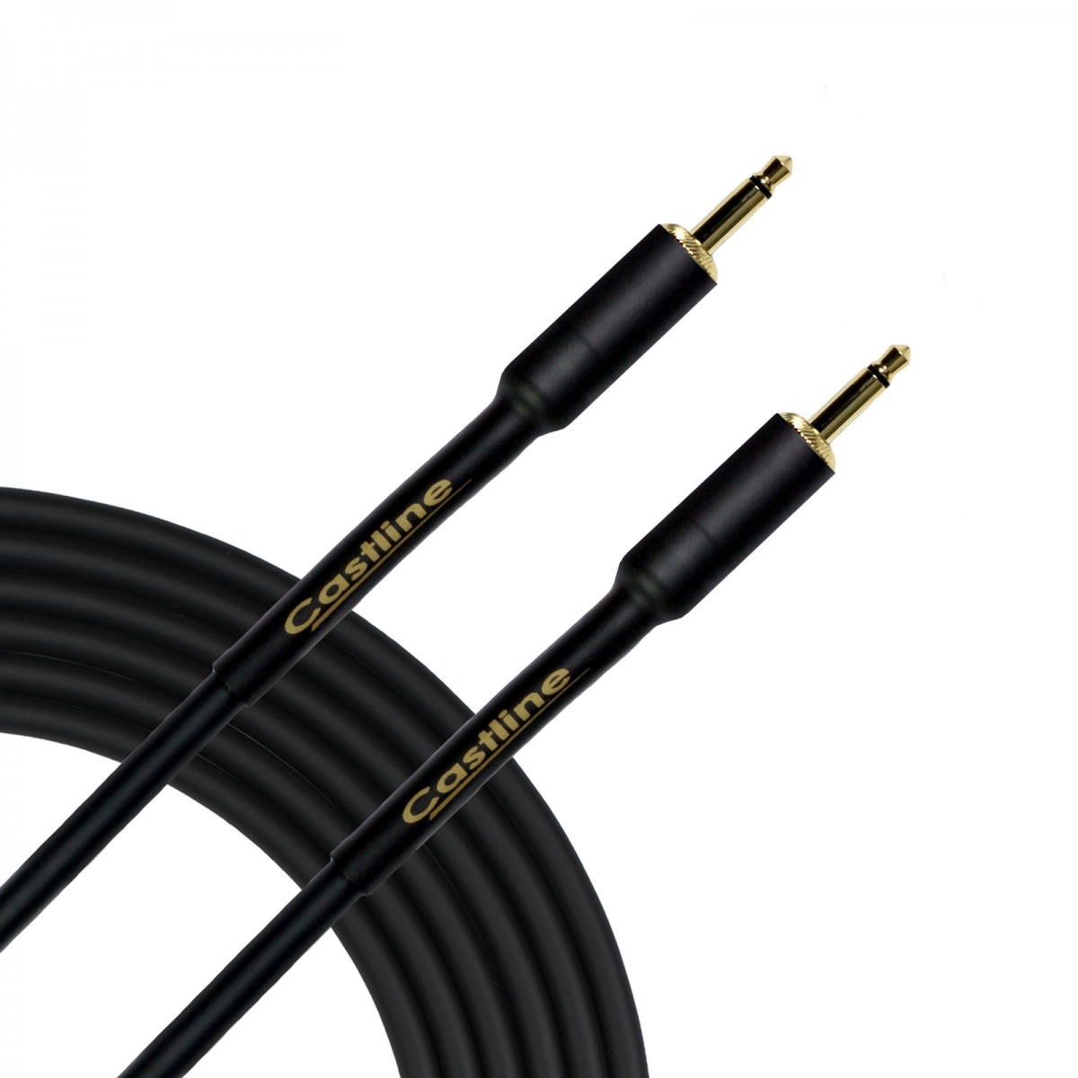 Castline Gold 3 5mm Ts Straight Unbalanced Patch Cable